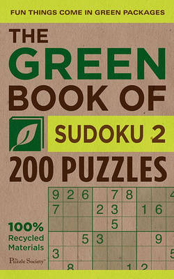 The Green Book of Sudoku 2 by The Puzzle Society image