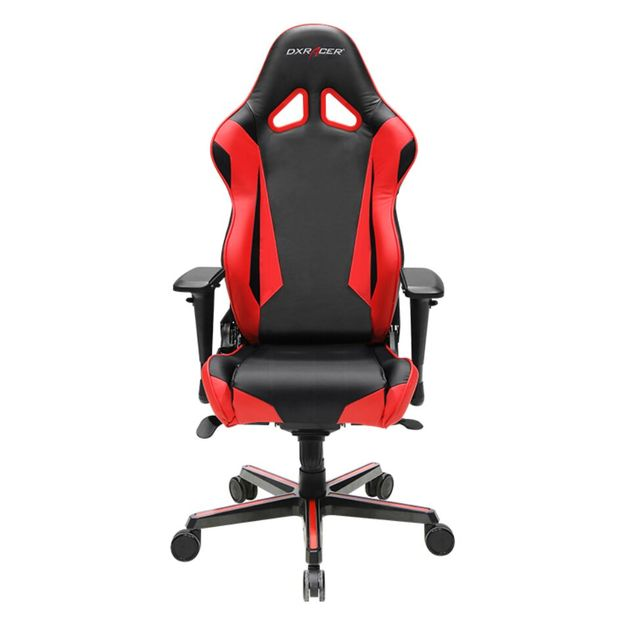 DXRacer Racing Series RV001 Gaming Chair (Black and Red) for