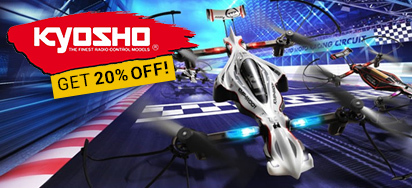 20% off Kyosho RC!