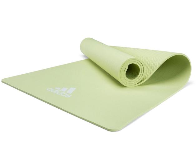 Adidas: 8mm Yoga Fitness Mat - Aero Green