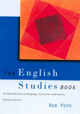 The English Studies Book by Rob Pope image
