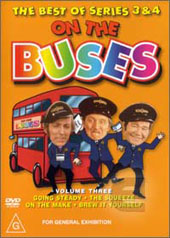 On The Buses - Colour Years; Vol 3 on DVD