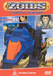 Zoids (Chaotic Century) Vol  1.1 on DVD