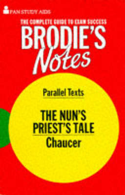 a literary analysis of nuns priests tale Take a look at a few of aesop's fables at the mit classics web site and compare them with the nuns as mere literary nun's priest's tale.