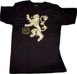 Game of Thrones Lannister Hear Me Roar Men's T-Shirt - XXL