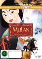 Mulan on DVD