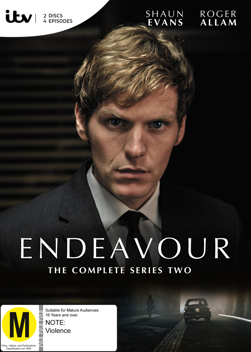 Endeavour- The Complete Season 2 on DVD image