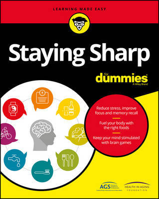 Staying Sharp For Dummies by American Geriatric Society image