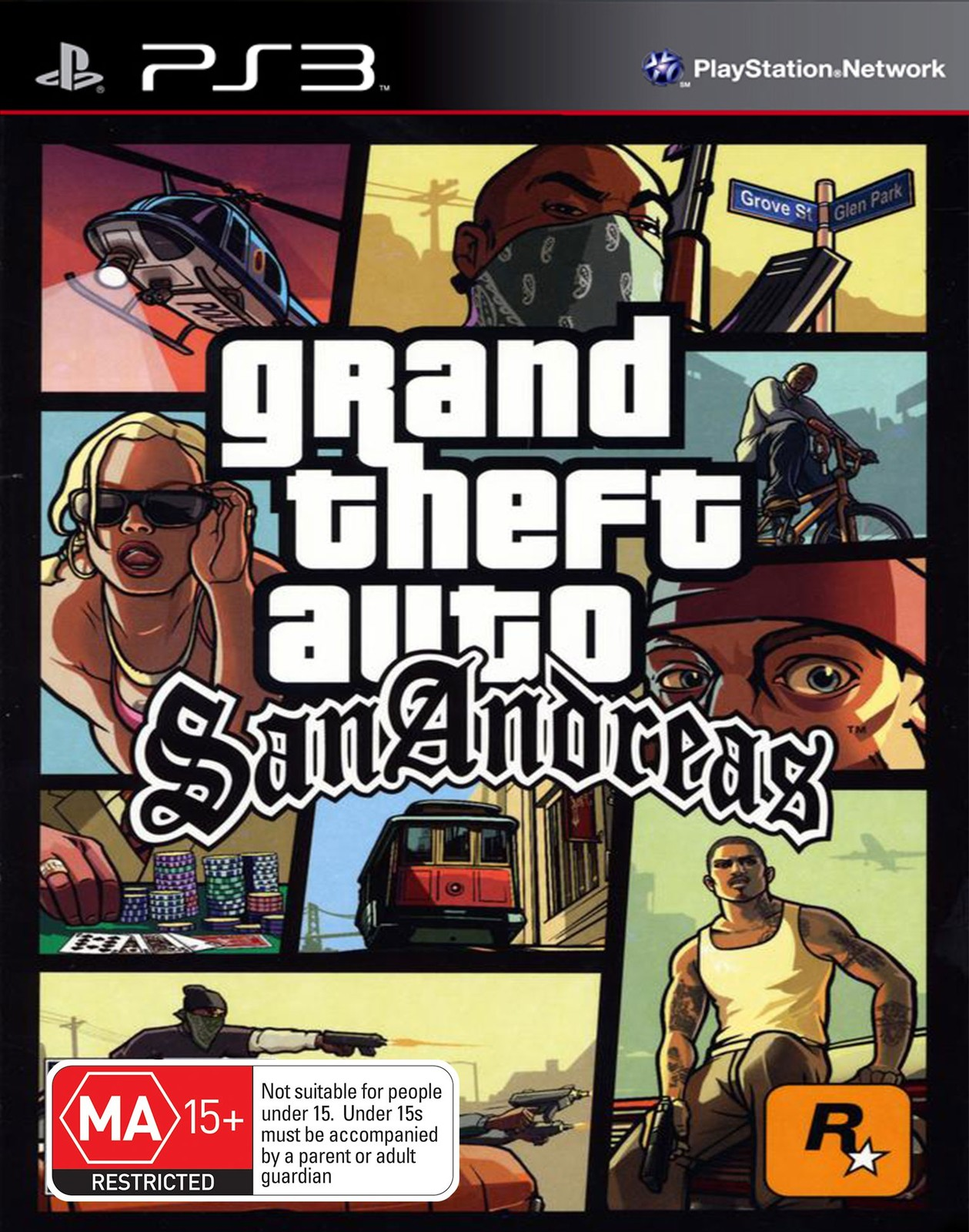 Grand Theft Auto: San Andreas for PS3 image