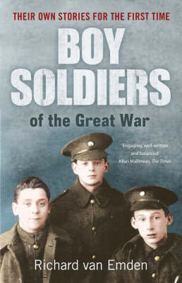 Boy Soldiers of the Great War by Richard Van Emden image