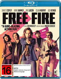 Free Fire on Blu-ray image