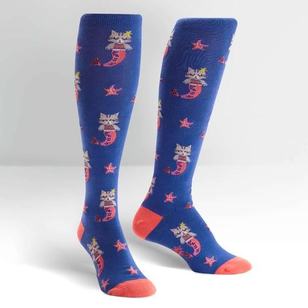 Women's - Purrmaid Knee High Socks