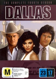 Dallas The Complete 4th Season on DVD image