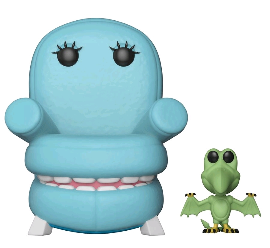 Pee-wee's Playhouse - Chairry with Pterri Pop! Vinyl Figure image