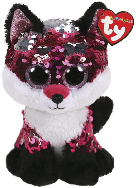 TY Beanie Boo: Flip Jewel Fox - Small Plush