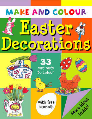 Make and Colour Easter Decorations by Clare Beaton image