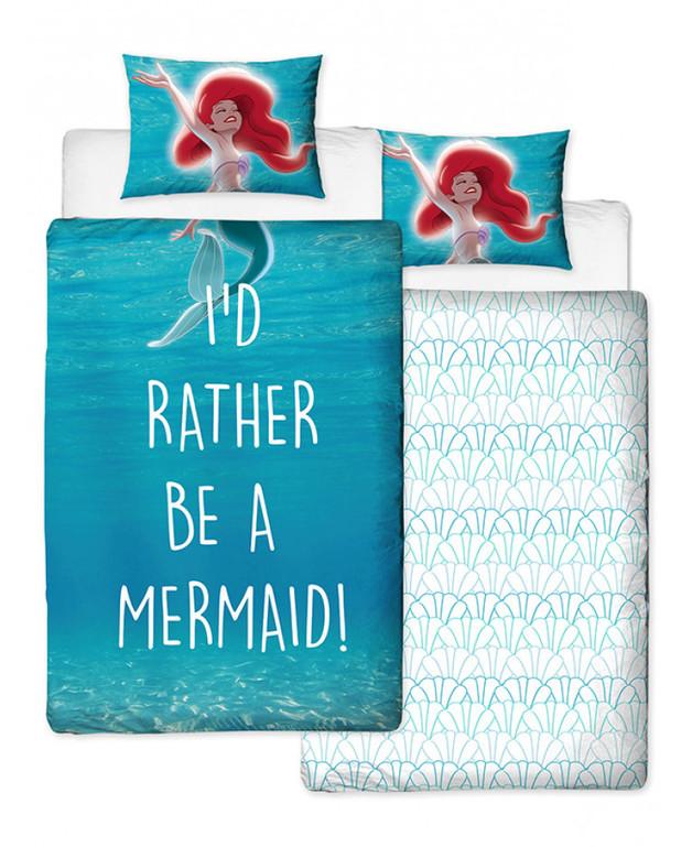 Disney: Reversible Duvet Cover Bedding Set - The Little Mermaid (Single)