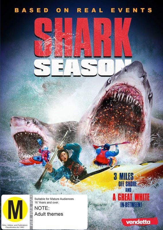 Shark Season on DVD