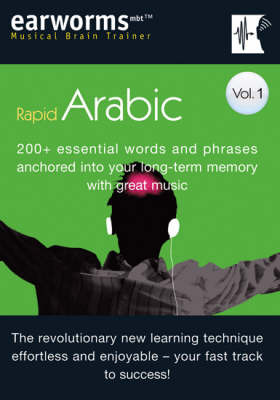 Rapid Arabic: 200+ Essential Words and Phrases Anchored into Your Long Term Memory with Great Music: v. 1 by Earworms Learning image
