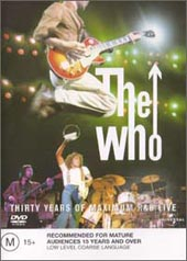 Who, The - Thirty Years Of Maximum R&B Live on DVD