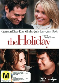 The Holiday on DVD image