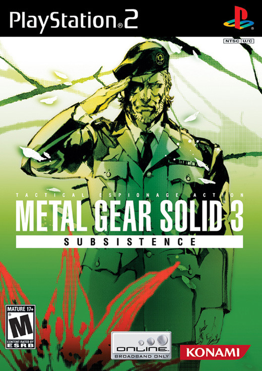 Metal Gear Solid 3: Subsistence 3 Disc Edition for PlayStation 2