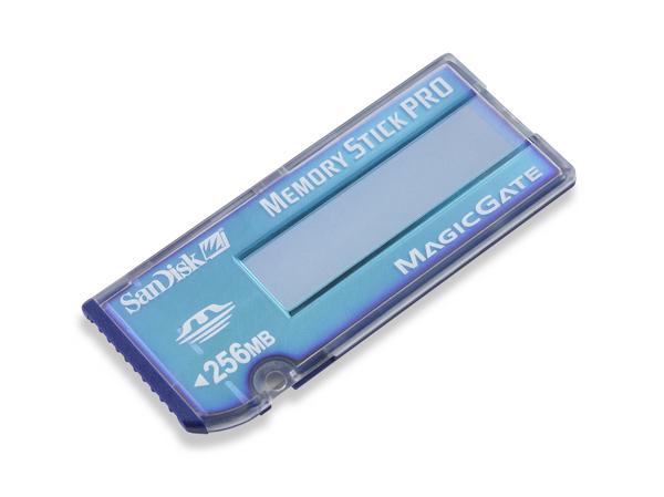 SanDisk 256MB MS Pro Memory Card
