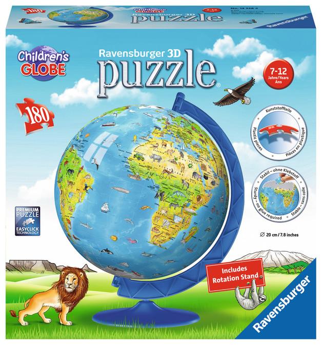 Ravensburger 3D Puzzle - Childrens Globe (108pc)