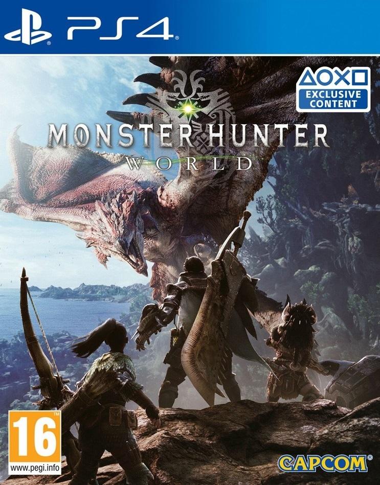 Monster Hunter World for PS4 image