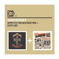 2FOR1: Appetite for Destruction / N'R Lies by Guns N' Roses