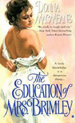 The Education of Mrs Brimley by Donna Macmeans image