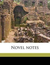 Novel Notes by Jerome Klapka Jerome