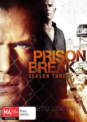 Prison Break - Complete Season 3 (4 Disc Set) DVD