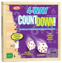 Ideal: 4 Way Countdown - Wooden Game