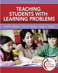 Teaching Students with Learning Problems by Cecil D. Mercer image