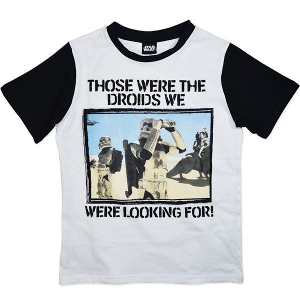 Star Wars Droids T-Shirt (Size 8)