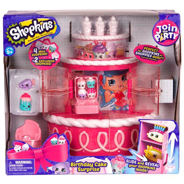 Shopkins Birthday Cake Surprise Playset