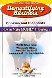 Demystifying Business with Cookies and Elephants by Gordon Ettie image