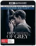 Fifty Shades of Grey on Blu-ray, UHD Blu-ray