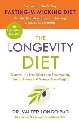 The Longevity Diet by Valter Longo image