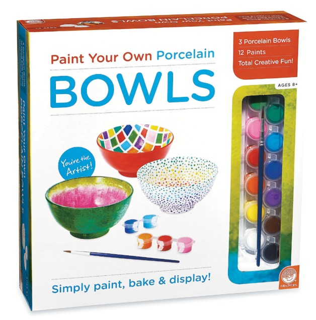 Mindware Create: Paint Your Own - Porcelain Bowls
