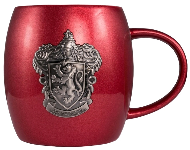 Harry Potter - Gryffindor Metallic Crest Mug