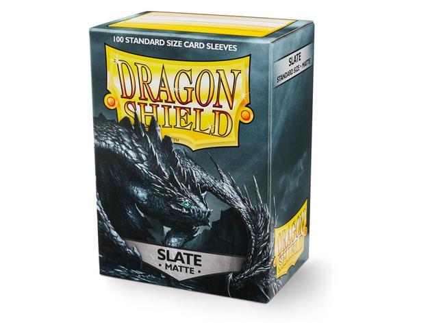 Dragon Shield Matte Slate Sleeves