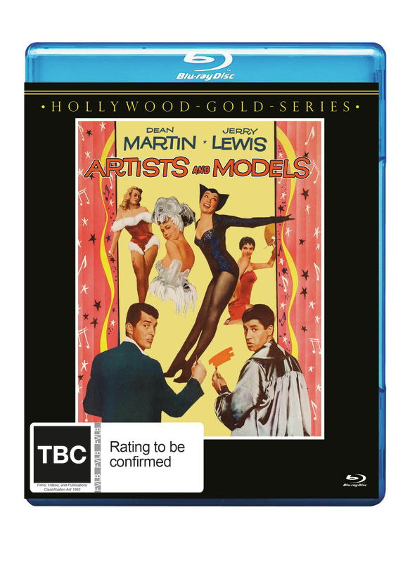 Artists And Models on Blu-ray