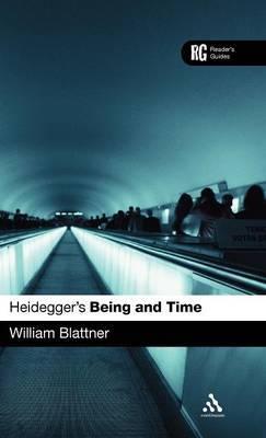 Heidegger's 'Being and Time' by William D. Blattner image