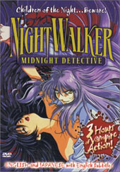 Nightwalker - Vol 1: Midnight Detective on DVD