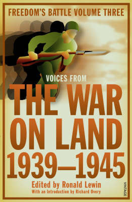 The War on Land by Ronald Lewin