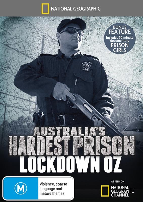 National Geographic: Australia's Hardest Prison - Lockdown Oz on DVD