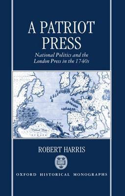 A Patriot Press by Robert Harris image