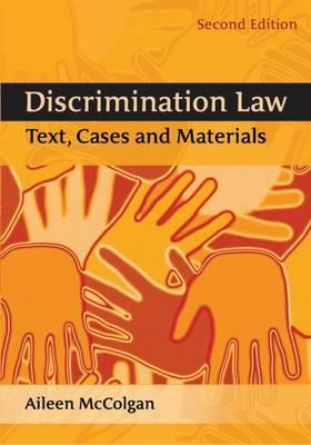 Discrimination Law by Aileen McColgan